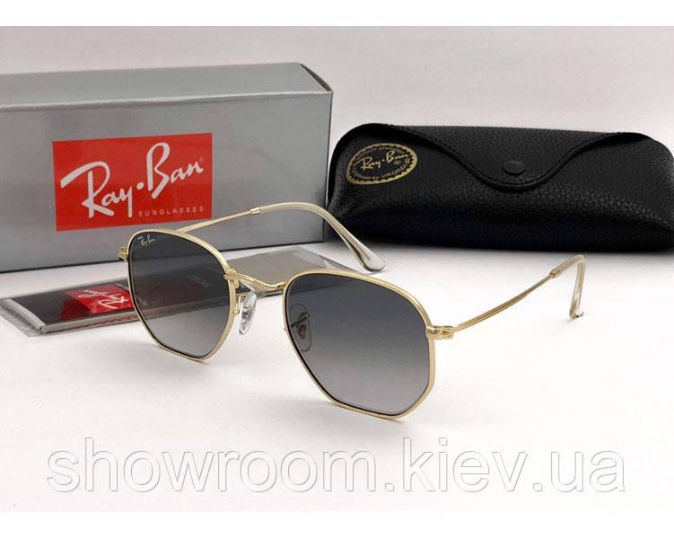 Мужские солнцезащитные очки в стиле RAY BAN 3548  001/32 Lux
