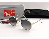 Мужские солнцезащитные очки в стиле RAY BAN 3548  001/32 Lux, фото 1