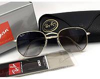 Женские солнцезащитные очки в стиле RAY BAN 3548  001/32 Lux