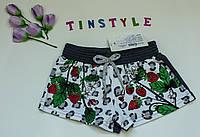Трикотажные  шорты для девочки  рост 6-8 лет, фото 1