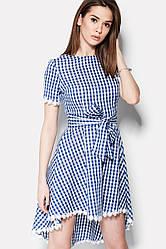 Шикарное женское платье с поясом MARKELL