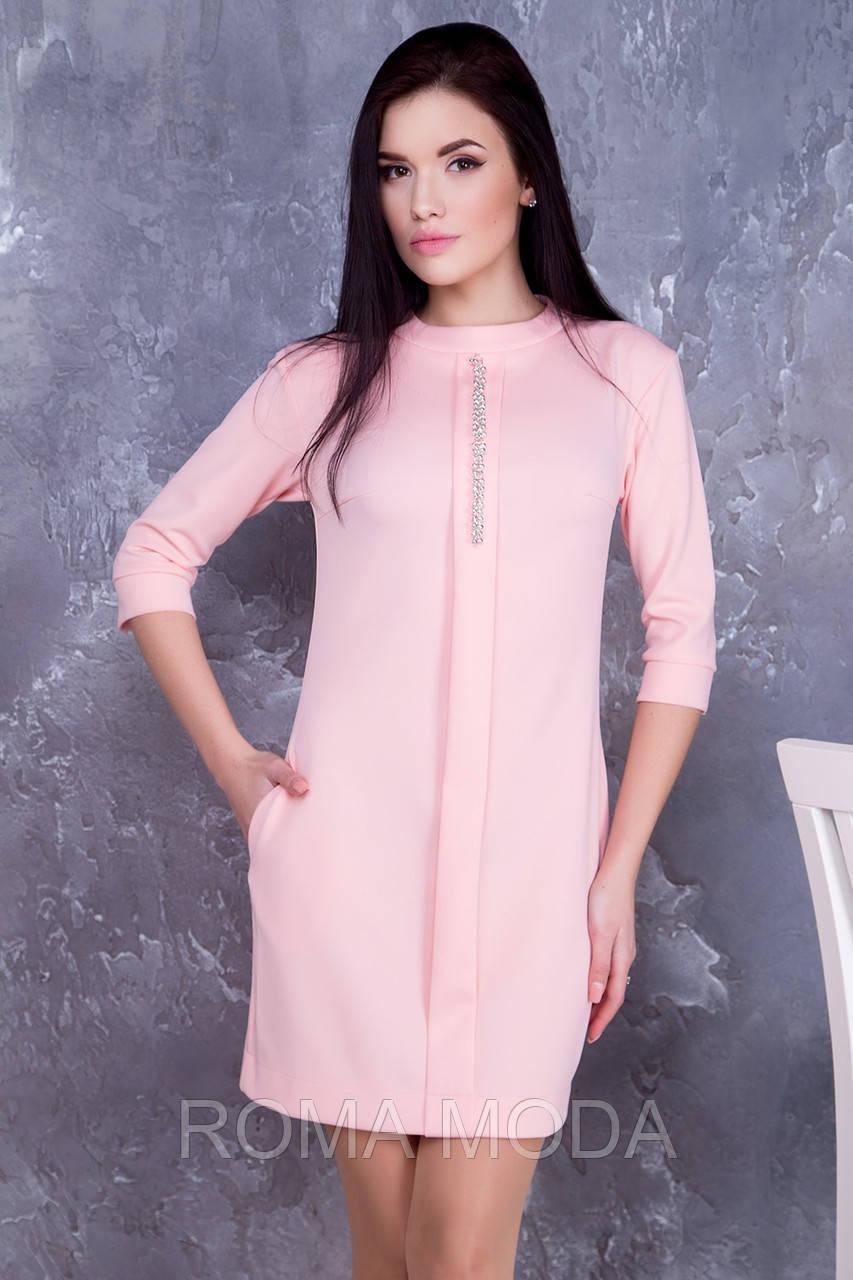 Красивое женское платье в 4х цветах IR Искра