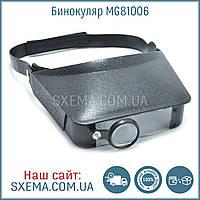 Бинокулярные лупы очки MG81006 (1,8х, 2,3х, 3,7х, 4,8х), фото 1