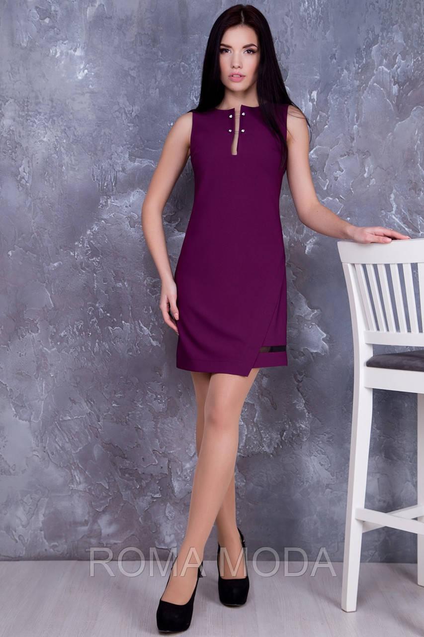 Стильное женское платье короткое в 5ти цветах IR Делли