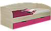 Кровать односпальная с ящиками Винни 1900 х 800
