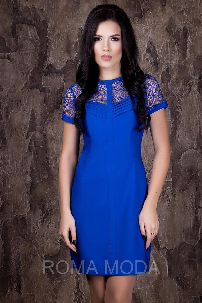 Нарядное женское платье в 3х цветах IR Риана