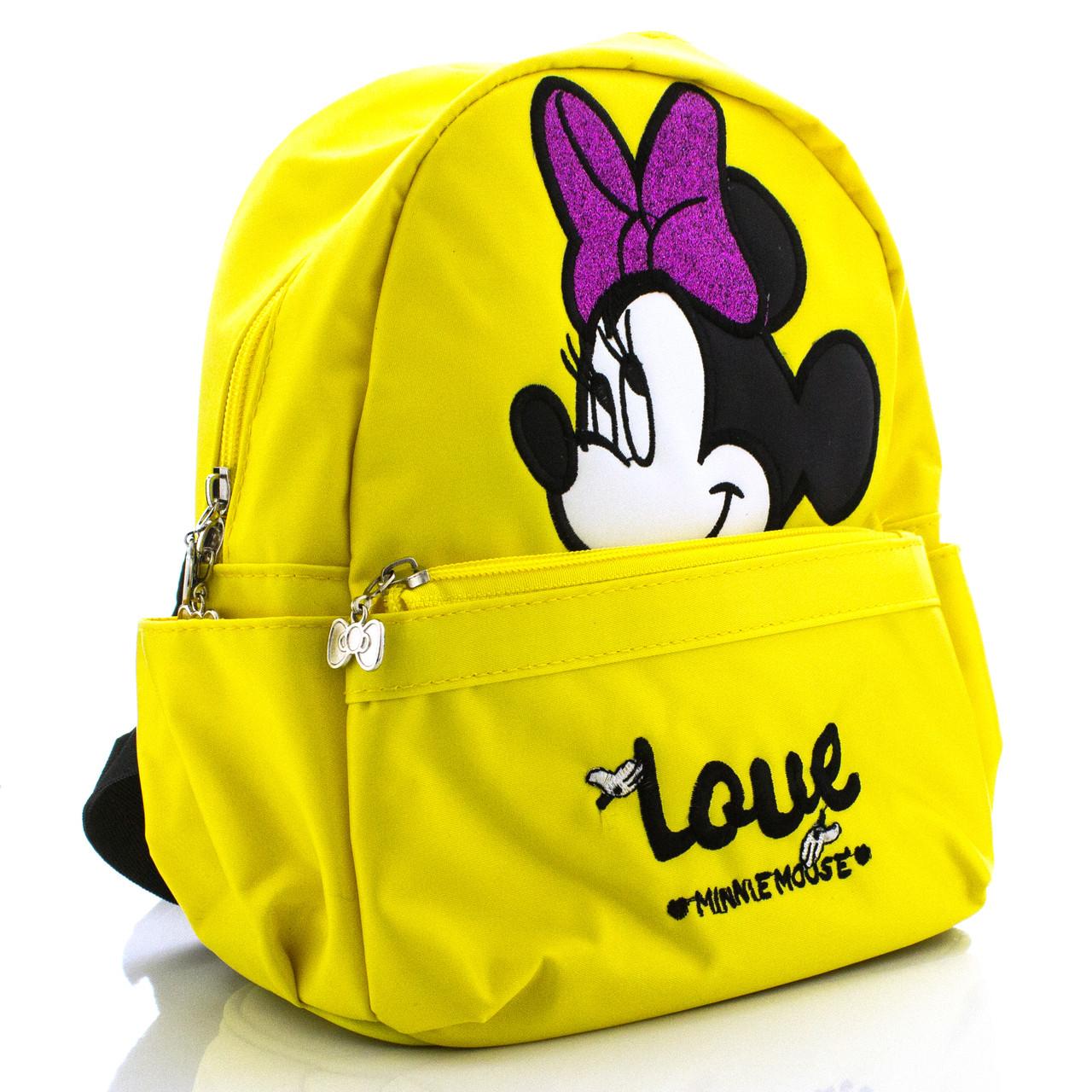 Детский рюкзак Love Minnie Mouse желтый