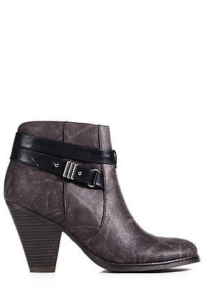 Ботильоны на каблуке JustFab Womens Page Black, фото 2