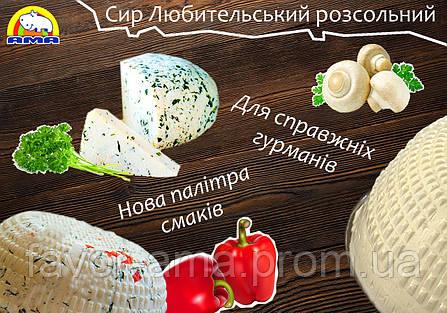 Сыр Любительский АМА  со смесью трав (230 г), фото 2