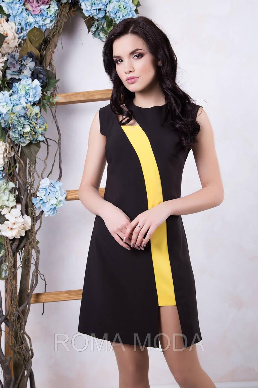 Модное платье молодежное в 2х цветах IR Рошель