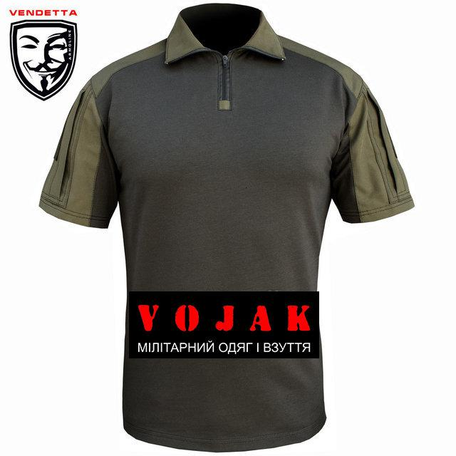 Рубашка тактическая короткий рукав (VENDETTA) Coyote р. 44-46, 56-58