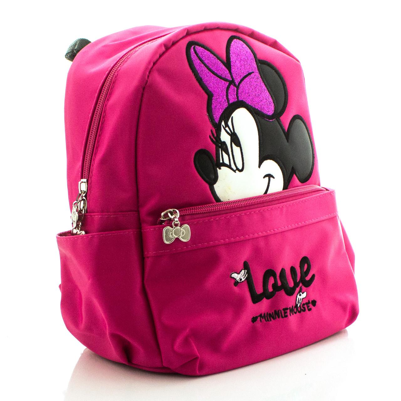 Детский рюкзак Love Minnie Mouse малиновый