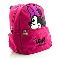 Детский рюкзак Love Minnie Mouse малиновый, фото 1