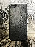 Чехол на iPhone из натуральной кожи страуса, фото 1