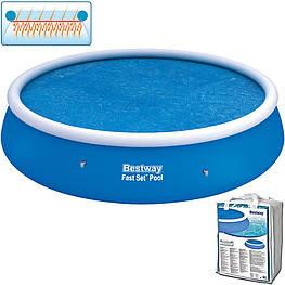 Плавающий солнечный брезент на бассейн