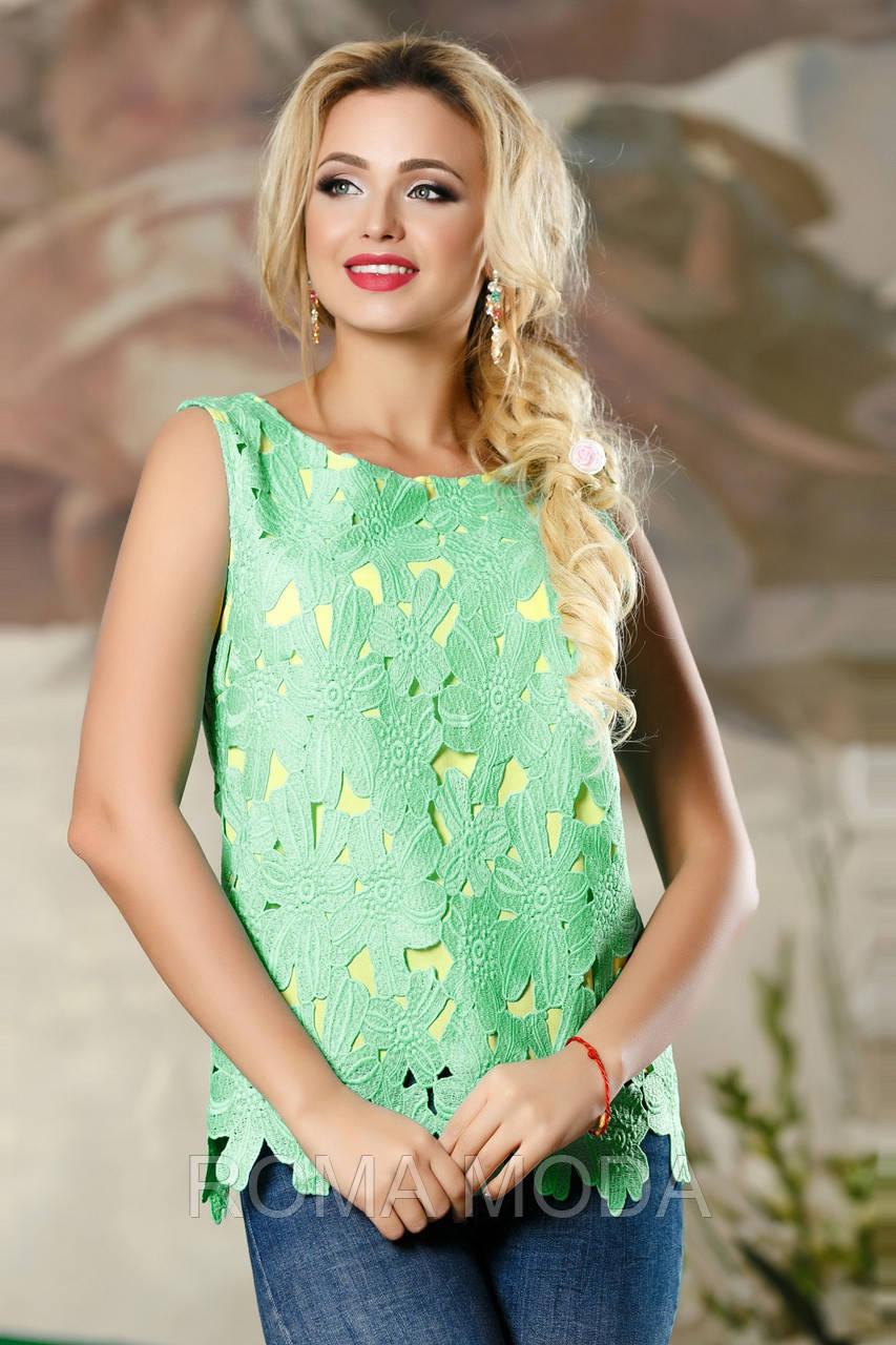 Блуза женская ажурная в 3х цветах SV 2158-61
