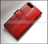 Элегантный красный чехол книжка для Asus Zenfone 4 Max ZC554KL X00ID с возможностями портмоне и замком, фото 2