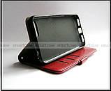 Элегантный красный чехол книжка для Asus Zenfone 4 Max ZC554KL X00ID с возможностями портмоне и замком, фото 5