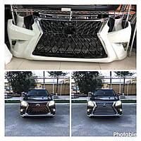 Передний бампер Lexus LX570 (2012-2016) стиль TRD