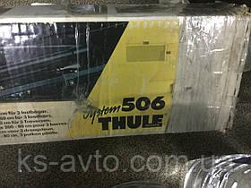 Багажник на крышу для бусов при наличии рейлингов (2000×800) THULE