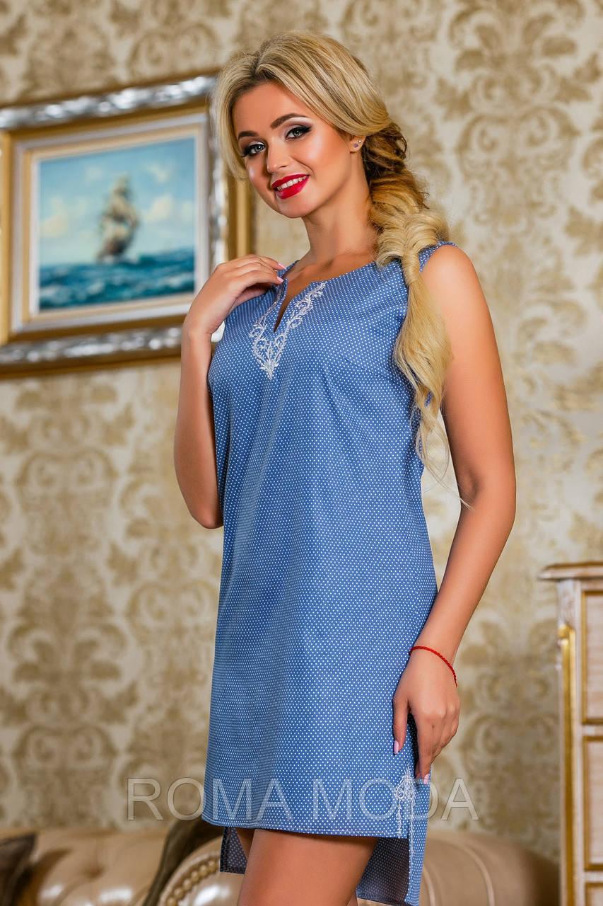 Платье женское без рукавов SV 2254