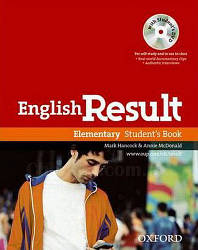 English Result Elementary Student's Book with DVD / Учебник с диском
