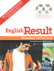 English Result Elementary Teacher's Resource Pack with DVD and Photocopiable Materials Book/ Книга для учителя