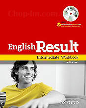 English Result Intermediate Workbook with answer key booklet and MultiROM  / Рабочая тетрадь с диском