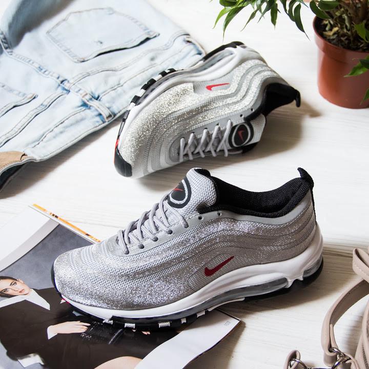 Женские кроссовки в стиле Nike Air Max 97 Ultra Swarovski Grey (36, 37, 39 размеры)