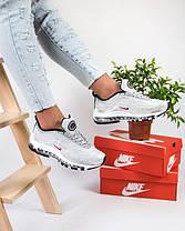 Женские кроссовки в стиле Nike Air Max 97 Ultra Swarovski Grey (36, 37, 39 размеры), фото 2