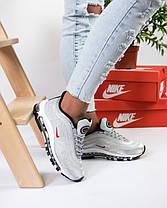 Женские кроссовки в стиле Nike Air Max 97 Ultra Swarovski Grey (36, 37, 39 размеры), фото 3