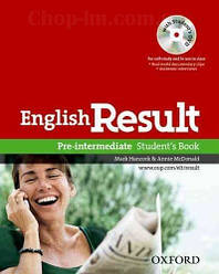 English Result Pre-Intermediate Student's Book with DVD / Учебник с диском