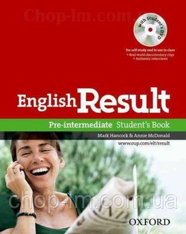 English Result Pre-Intermediate Student's Book with DVD / Учебник с диском, фото 2