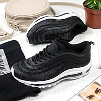 Женские кроссовки в стиле Nike Air Max 97 Ultra Swarovski Black (36, 37, 39 размеры)