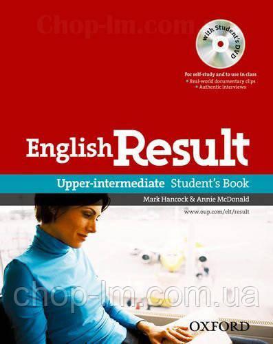 English Result Upper-Intermediate Student's Book with DVD / Учебник с диском