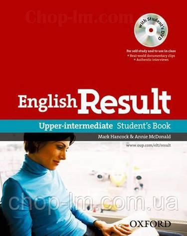 English Result Upper-Intermediate Student's Book with DVD / Учебник с диском, фото 2