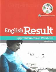 English Result Upper-Intermediate Workbook with answer key booklet and MultiROM / Рабочая тетрадь с диском