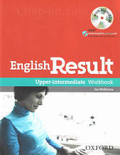 English Result Upper-Intermediate Workbook with answer key booklet and MultiROM / Рабочая тетрадь с диском