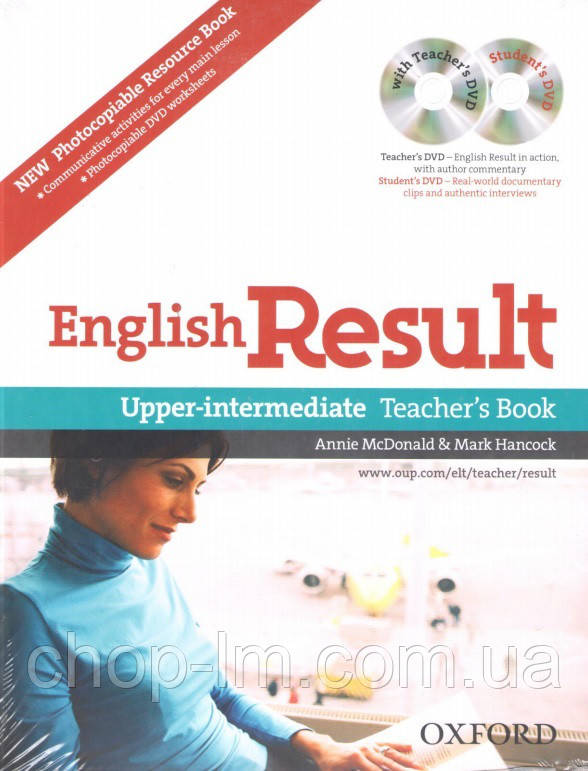 English Result Upper-Intermediate Teacher's Resource Pack with DVD and Photocopiable Materials Book / Для учит