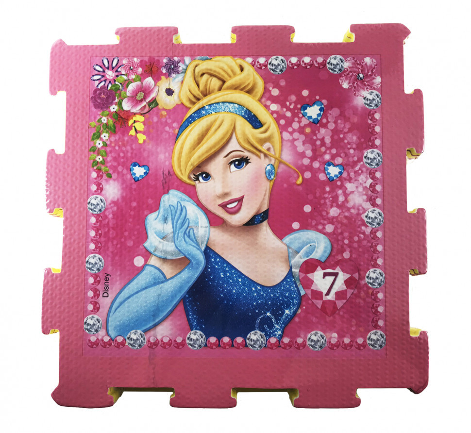 Пазлы фомовые GM1710271D Disney (Принцессы Дисней)