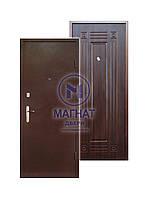Входные Двери Магнат-1 Орех Темный