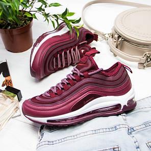 Женские кроссовки в стиле Nike Air Max 97 Bordeaux (36, 37, 38, 39, 40, 41 размеры), фото 2