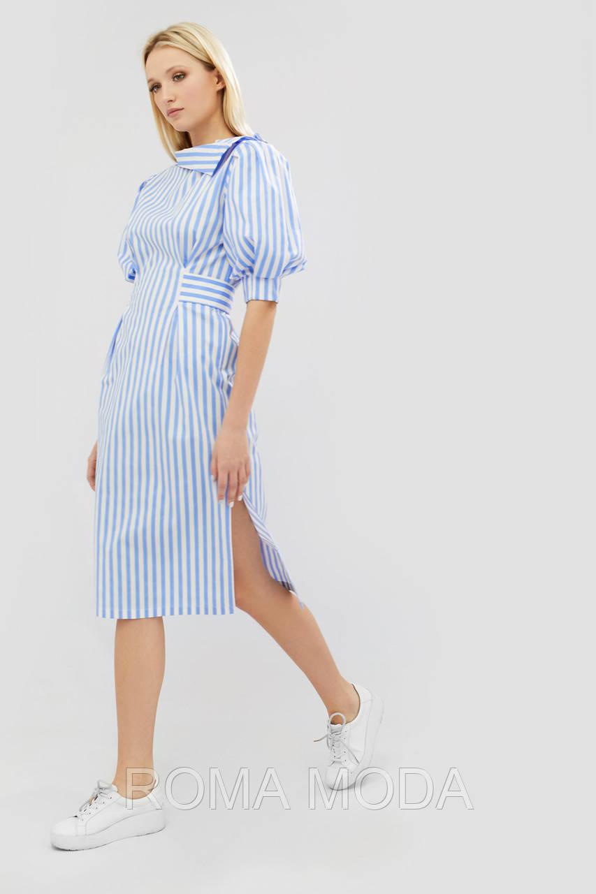 Стильное женское платье в 2х цветах FENSI