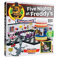 Конструктор 5 ночей с Фредди McFarlane Toys Five Nights В игровой зоне Freddy's Building Building Kit