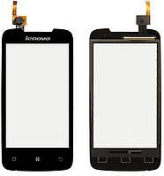Сенсорный экран (touchscreen) для Lenovo S680, оригинал (черный)