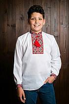 Вышиванка для мальчика с длинным рукавом (0905/6)
