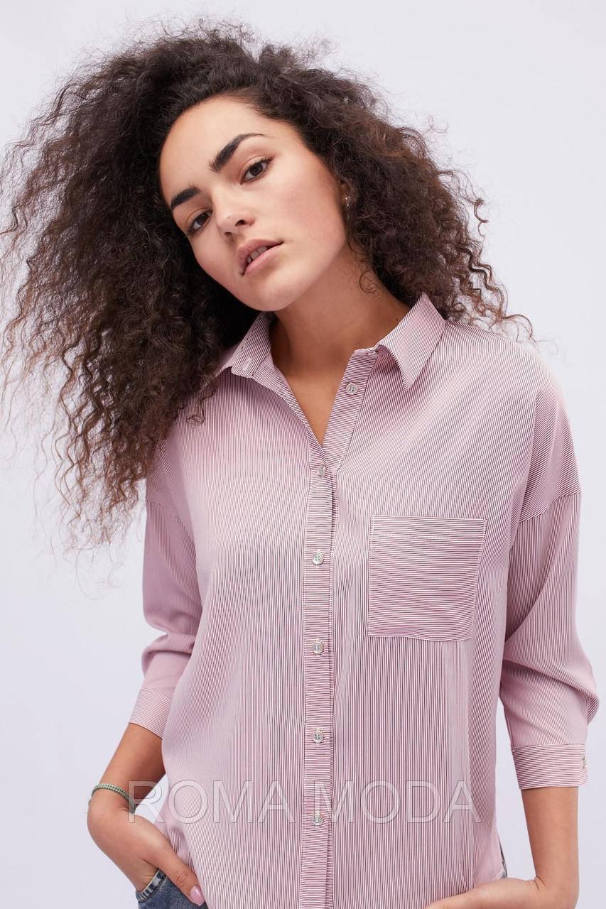 Летняя блуза женская в 2х цветах BK-7646