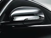 Комплект хромированных накладок на зеркала заднего вида Jaguar XJ/ Jaguar X Новый Оригинальный