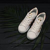 Кроссовки Adidas SUPERSTAR женские Whate/Puffy ( реплика А+++)