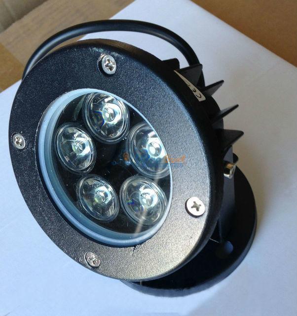 LED Светильник ланшафтный LEMANSO 5LED 5W 6500K чёрный LM979